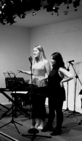 Amanda Bruce and Lucy Theobald