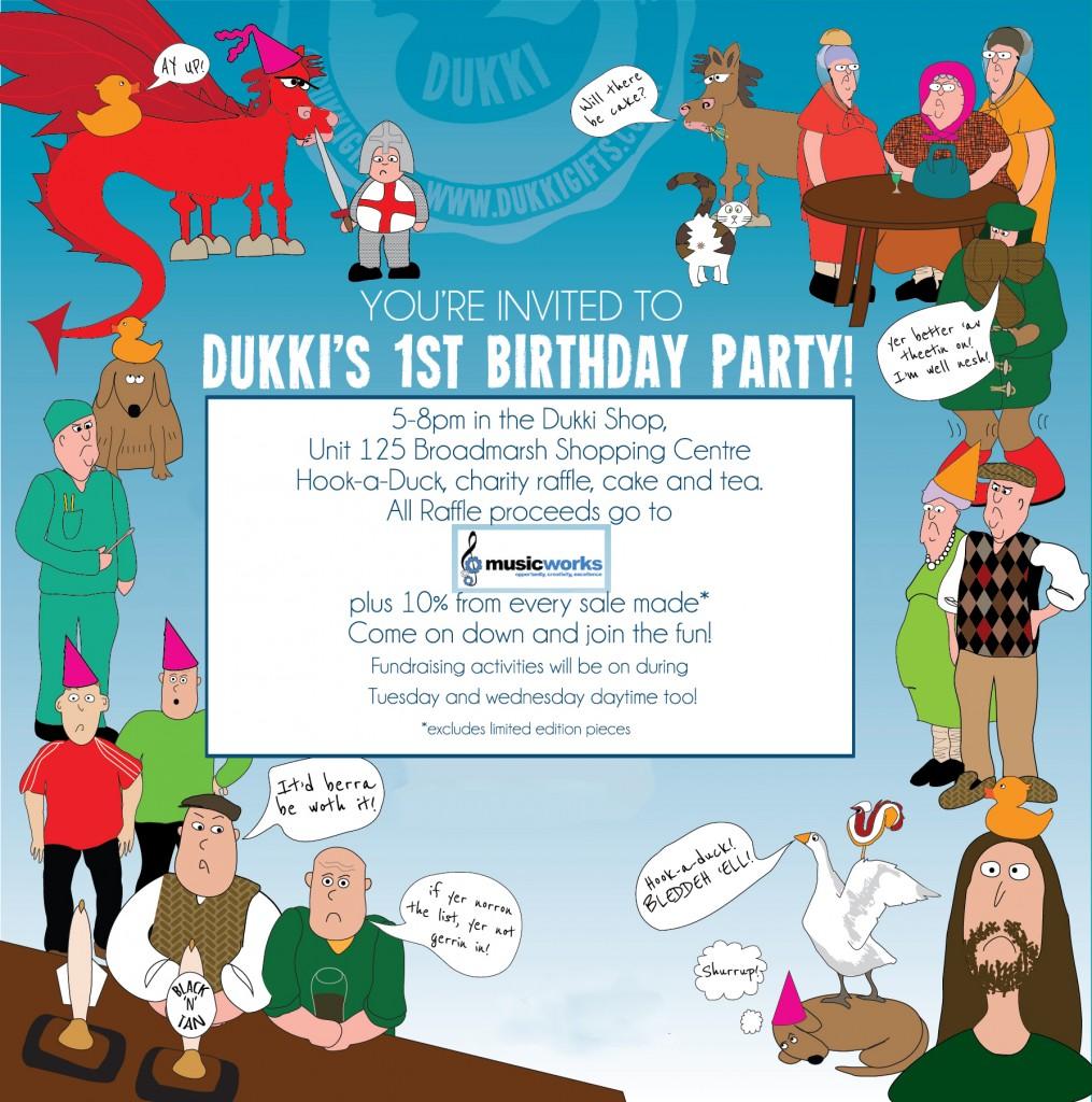 Dukki Invite